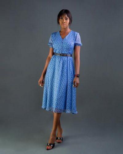 blueheart-shapedpleatdresswithbelt